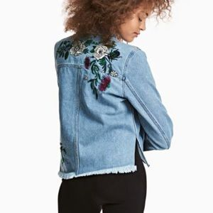 H&M x Coachella Embroidered Jean Jacket